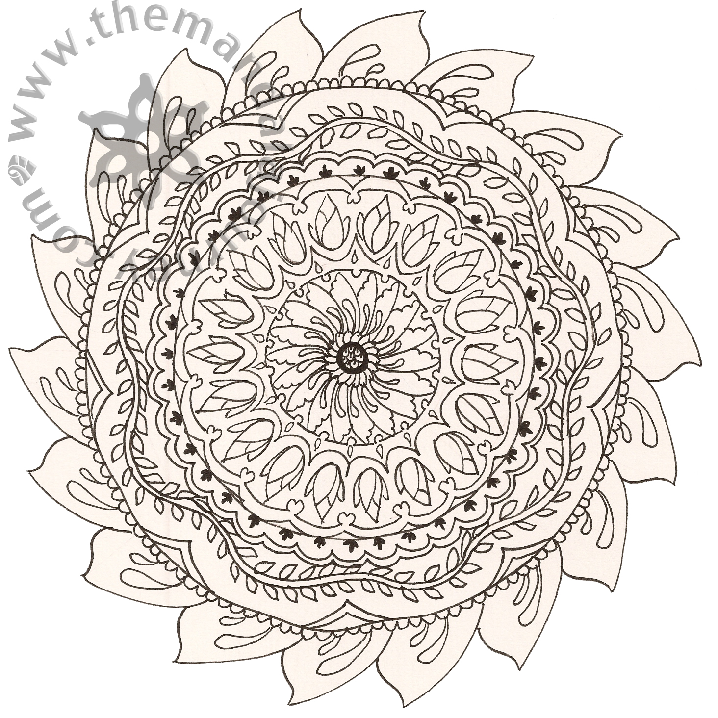 Make Adult Coloring Pages