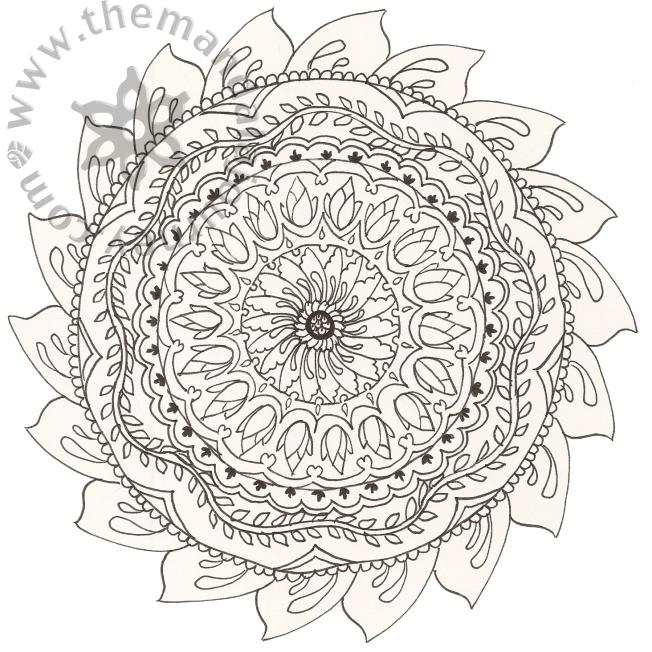 Line Mandala 3