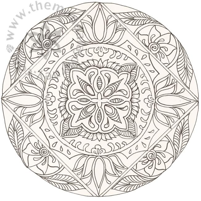 Line Mandala 4